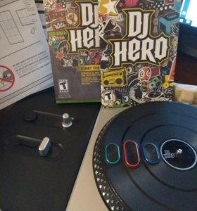 Dj Hero 2(игра+контролер)для Xbox360