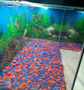 Цветной грунт для аквариум
