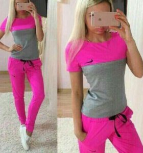 Спортивный костюм (футболка + брюки)