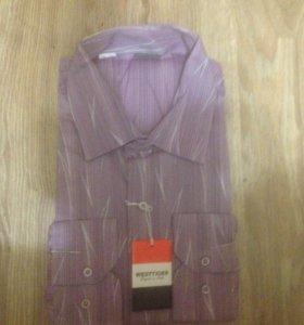 Новая мужская рубашка XL