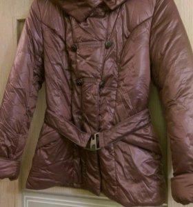 Белорусская куртка - пуховик новая 46 р