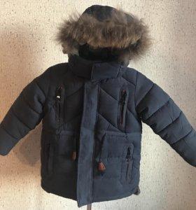 Зимняя куртка ( парка)новая