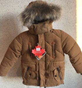 Зимняя куртка новая ( парка)