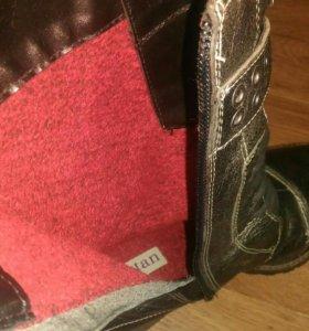 Новые кожаные ботинки Бразилия
