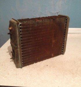 Радиатор отопления печки ВАЗ (медный)
