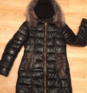 Куртка зимняя+тёплая шапка