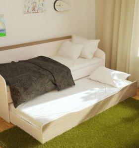 Паскаль ясень кровать