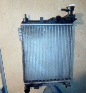 Радиатор getz 1.3 мт