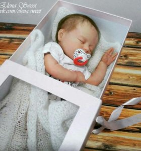 Кукла реборн из молда Амелия