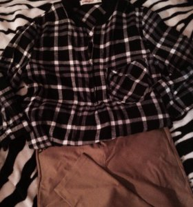 Рубашка + лосины