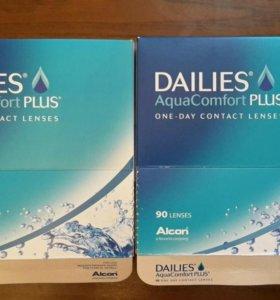 Dailies линзы -1.5