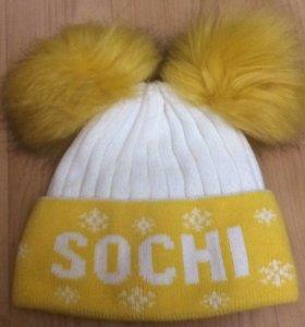 Новая шапка Сочи