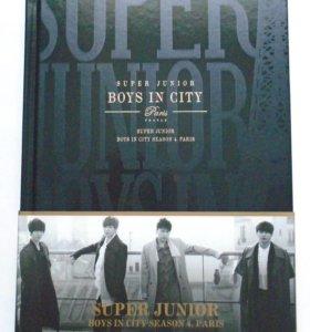 """Фотобук Super Junior """"Boys In City 4 Paris"""""""