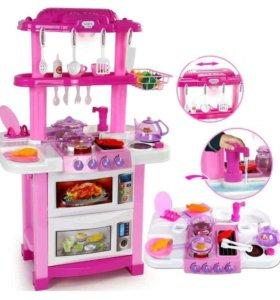 Детская кухня свет, звук, вода