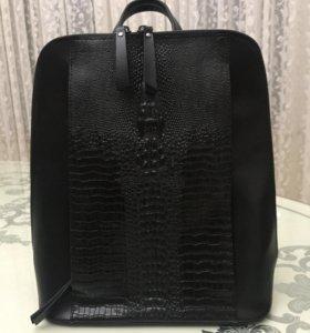 Рюкзак-сумка.Натуральная кожа.