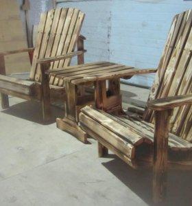 кресло для сада адирондак