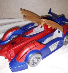 Автомобиль человека паука 4 в 1. Длина 35 см