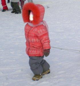 Куртка зимняя со штанами / комплект зимний
