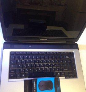 Ноутбук Toshiba L300 в хорошем состоянии