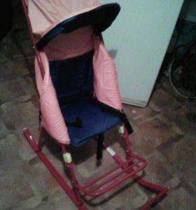 Санки коляска .Новые