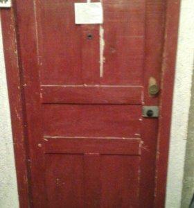 Дверь дубовая входная