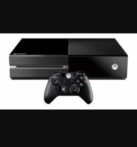 Xbox one + 4 игры