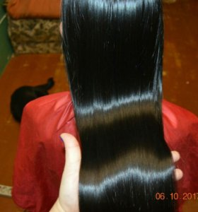 Кератиновое выпрямление волос САО
