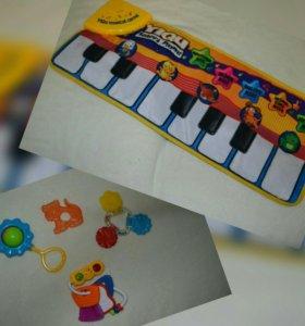 Электронное пианино + подарок