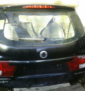 Крышка багажника на кайрон 2