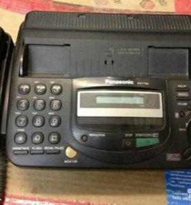 Телефон-факс Panasonic KX-FT64