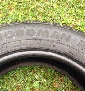 Резина зимняя липучка nordman rs 185 65 15