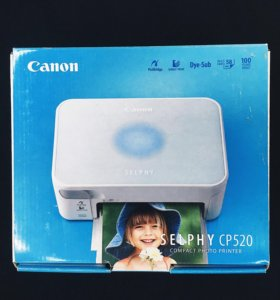 Моментальный принтер Canon Selphy CP520