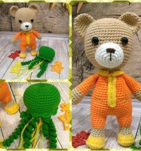 Медведь в пижаме