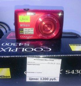 Фотоаппарат Nikon S4300