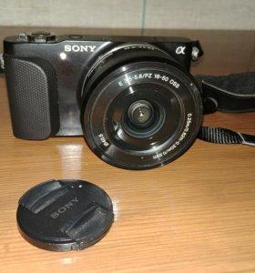 Sony NEX-3N + флешка 16 гб