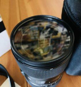 Объектив Sigma AF 18-35 mm f1.8 ART Canon EF