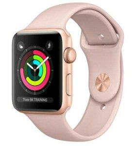 Смарт-часы Apple Watch S3 Sport 38mm Gl Al/PinkSan