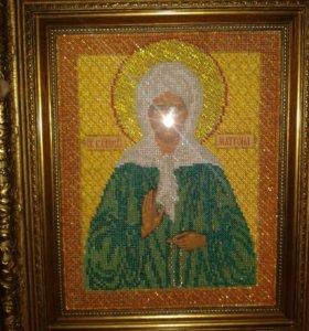 Икона Св.Блаж.Матрона