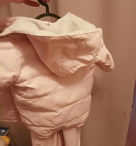 Детская демисезонная куртка и полукомбинезон