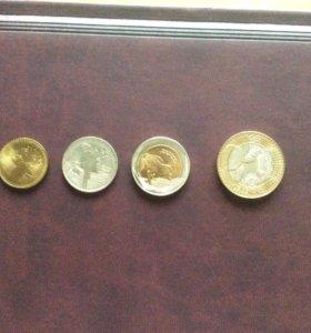 Монеты из Колумбии