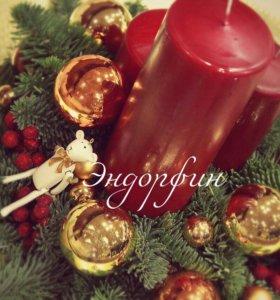 Новогоднее оформление,елки