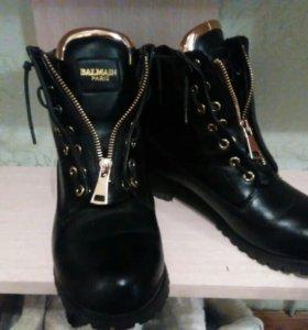 Ботинки BALMAIN демисезонные