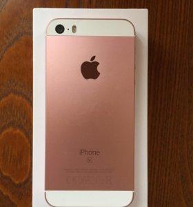 iPhone SE, Rose gold, 16gb