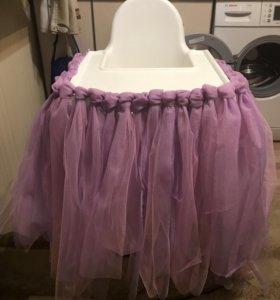 Фатиновая юбка на столик