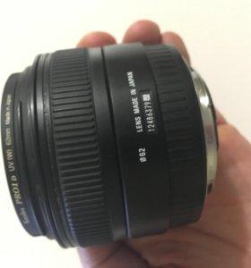 Объектив Sigma 30mm 1.4 для canon