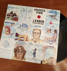 "Пластинка LP John Lennon ""Shaved Fish"""
