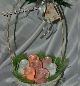 Мыло ручной работы- подарок с пользой