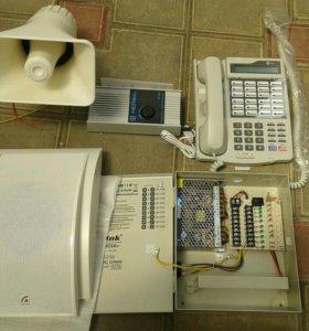 Оборудование и материалы для связи и видео.