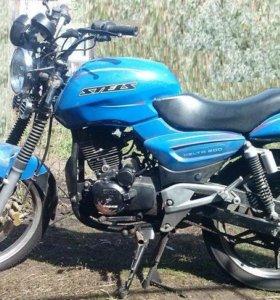 Мотоцикл pegas zf 250, stels 200