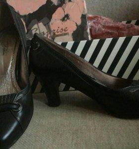 Туфли нат. кожа р.37